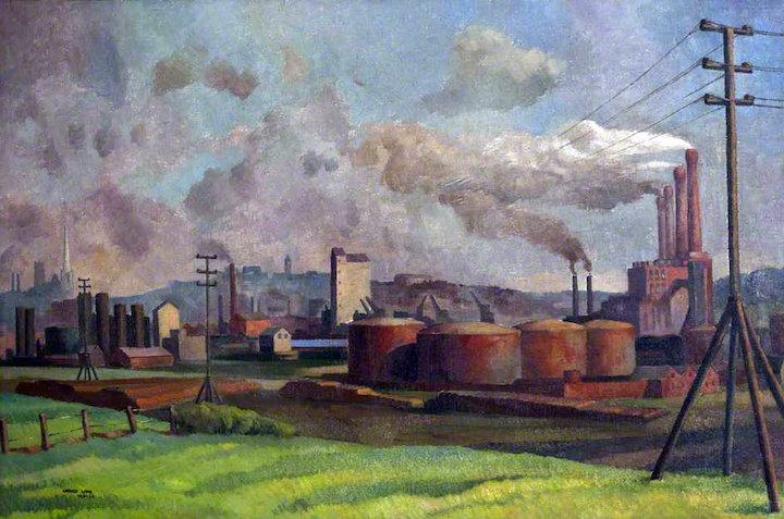 View of Preston in the 1950s by Harold Pic: Harris Gallery, Preston Digital Archive