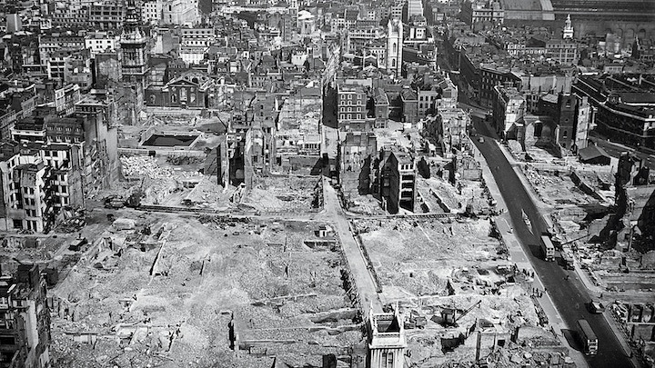 London in WWII Pic: National Geographic