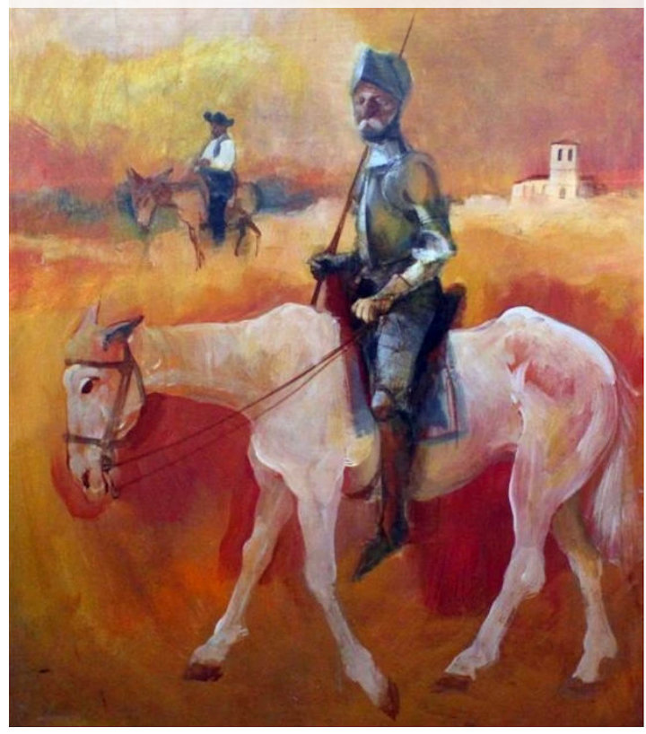 Harold painted for the Sultan of Oman Pic: Mutual Art