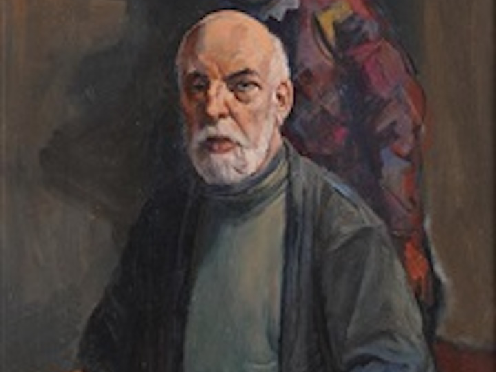Harold Wood self-portrait Pic: Preston Digital Archive