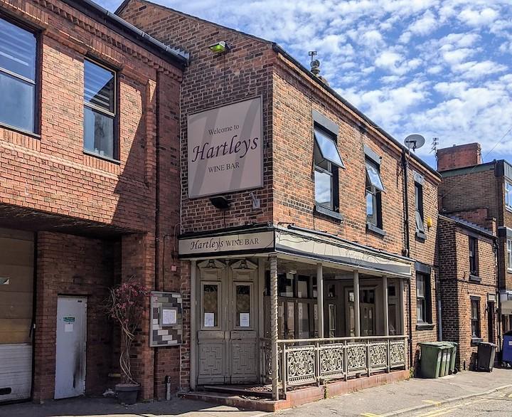 Hartleys Wine Bar Pic: Tony Worrall