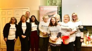 Volunteers at the Hope for Justice quiz in February 2020