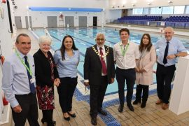 West View Leisure Centre reopened by the Mayor of Preston