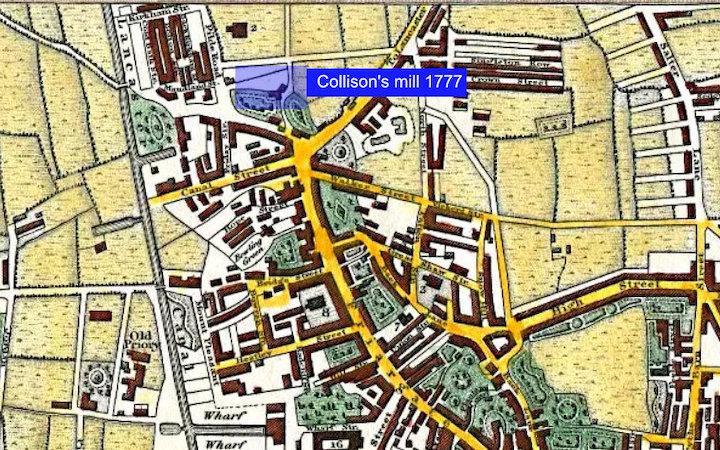 Map of Preston in 1824 Pic: Preston Digital Archive