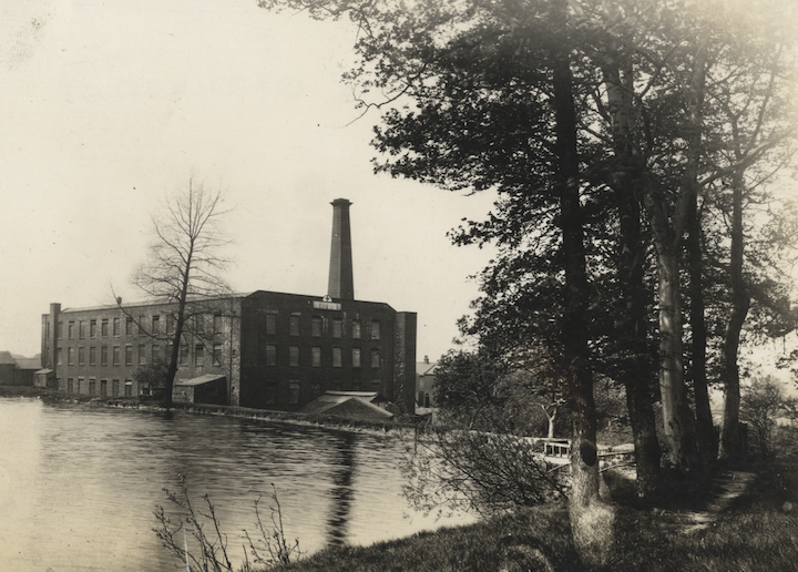 Penwortham Mill in 1910 Pic: Lancashire County Councillor