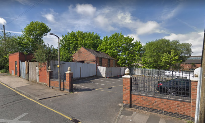 Where the industrial units will be. Pic: Google