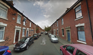 There was a fire at a property in Langton Street. Pic: Google