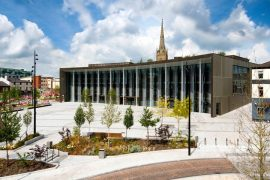 UCLan's Student Centre and University Square