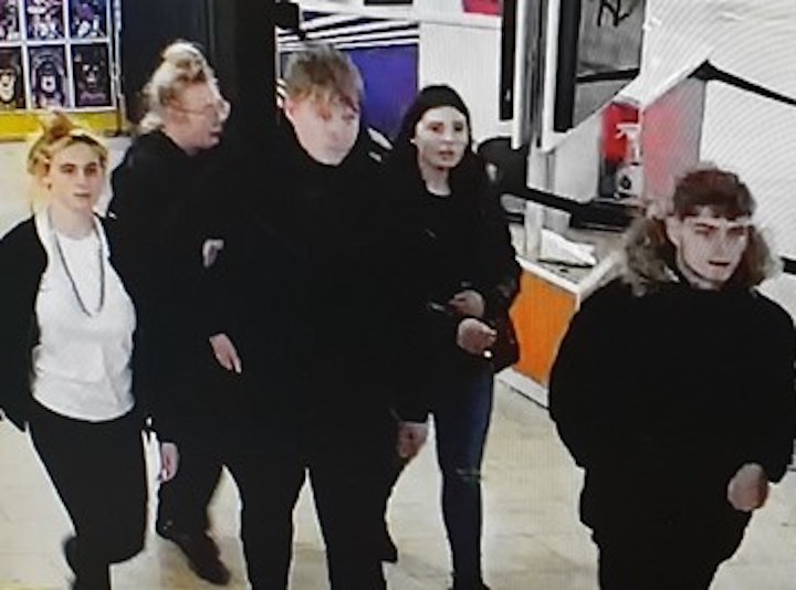 CCTV of people wanted in connection with Blackpool robberies Pic: Lancashire Police