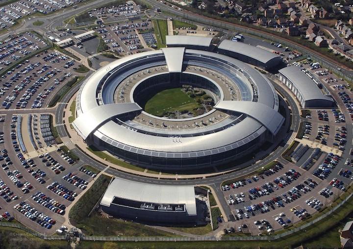 Government Communication Headquarters (GCHQ) in Cheltenham Pic GCHQ/Crown Copyright