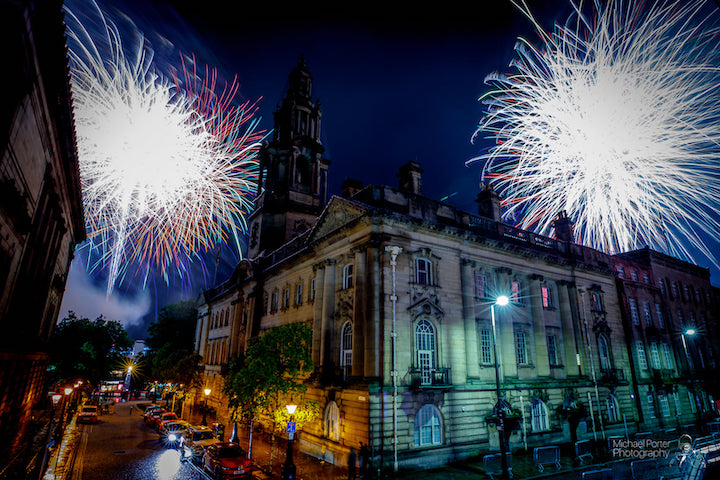 Fireworks over Sessions House Pic: Michael Porter Photography