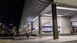 Preston Bus Station at night Pic: Tony Worrall