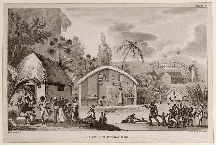 Slaves in Barbados Pic: Barbados Historical Society