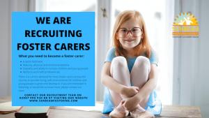 Sunbeam Fostering Agency recruitment advert