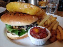 The Golden Ball of Longton burger